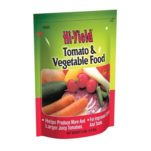 Hi-Yield Tomato and Vegetable Food 4-10-6 Garden Plant
