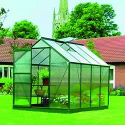 Greenhouse Base Glazing Set Frame 8 x 6